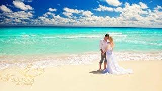 Cancun Wedding Photography.Wedding Photographer In Cancun, Mexico. Beach Wedding.