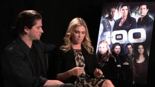 The 100 - Thomas McDonell and Eliza Taylor interview