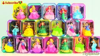 Disney Princess Gem Collection Surprises Cinderella, Belle, Rapunzel, Ariel