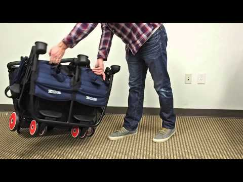 ZOE XL2 BEST & DESIGNER Double Stroller Review/Overview 2016 (XL1) Top Travel/Disney Twin Stroller
