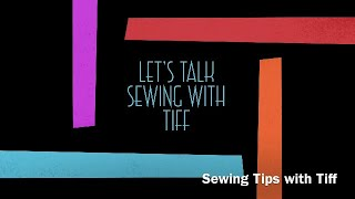 Sewing Tips | Fabric Storage