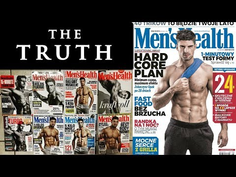 Male fitness model workout and diet plan   MEN'S HEALTH COVER ...