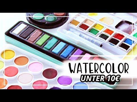 Im Test: Aquarellfarbe unter 10€