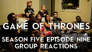 Game of Thrones - The Dance of Dragons - Group Reaction