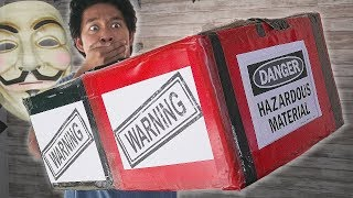 $500 SECRET Web Mystery Box! Looking for Hacker Girl!