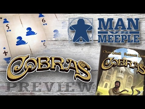 Cobras Preview by Man Vs Meeple