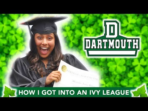 How I Got Into An Ivy League College 🎓