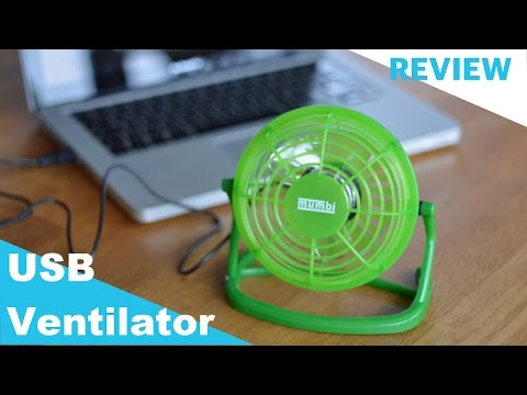 Amazon Mini USB Ventilator REVIEW