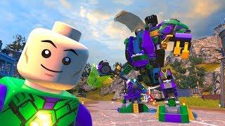 LEGO DC Super-Villains - Lex Luthor's Mech - Open World Free Roam Gameplay HD