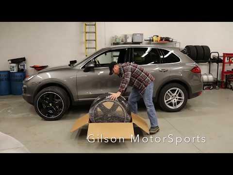 Unboxing Porsche Cayenne Summer Wheels