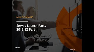 Servoy 2019.12 Launch - Part 1 - What's New