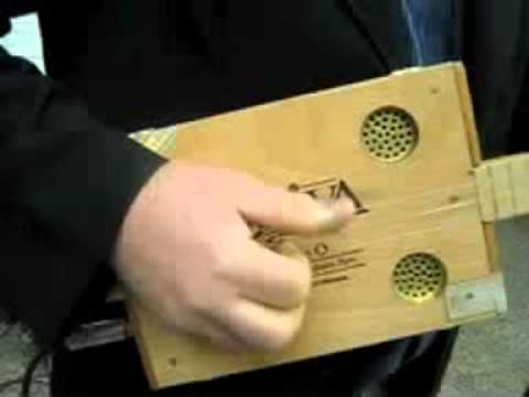 TAO The Anonymous Orchestra - DAN'S ELECTRIC CIGAR BOX GUITAR