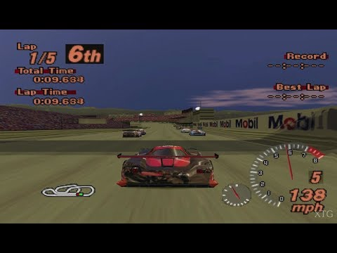 Gran Turismo 2 PS1 / PSX @ real 60fps gameplay 1440p HD (GT2, PGXP