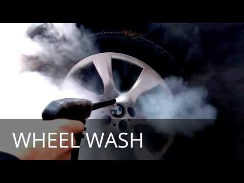 Steam Jet Car Cleaning & Wax System