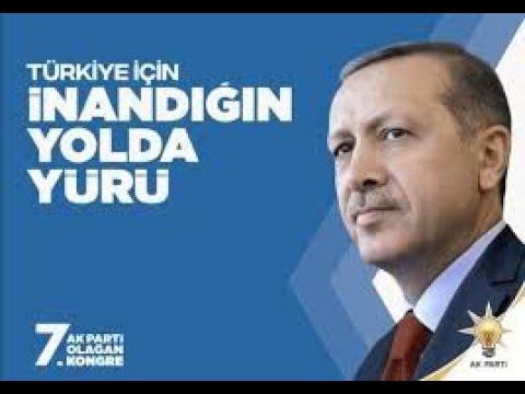 Genel Başkanımız Recep Tayyip Erdoğan'ın 7 .Olağan Kongre Mesajı