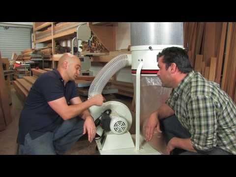 Jet Vortex Dust Collector: Motor
