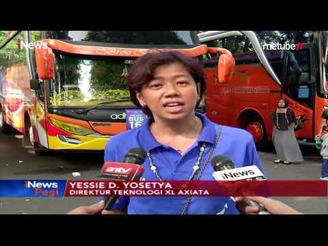 XL & Axis Berangkatkan 1300 Pemudik Tujuan Jawa & Sumatra - iNews Pagi 04/06