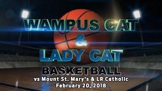 Lady Cats vs Mount Saint Mary's 2/20/18