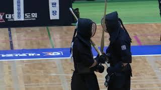 2019 서울 전국체전 검도경기 일반부 경기도 VS 경상남도