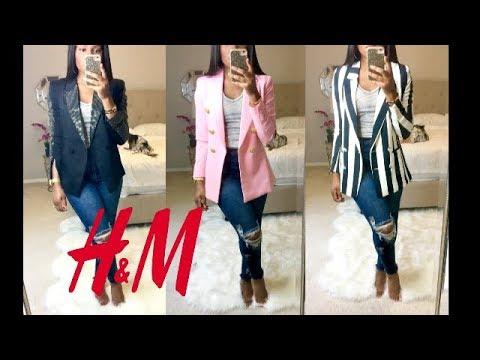 The Perfect H&M Blazer- H&M Blazer Haul- Pro Tips Made Easy