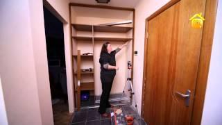 Встроенный шкаф купе  От замера до монтажа