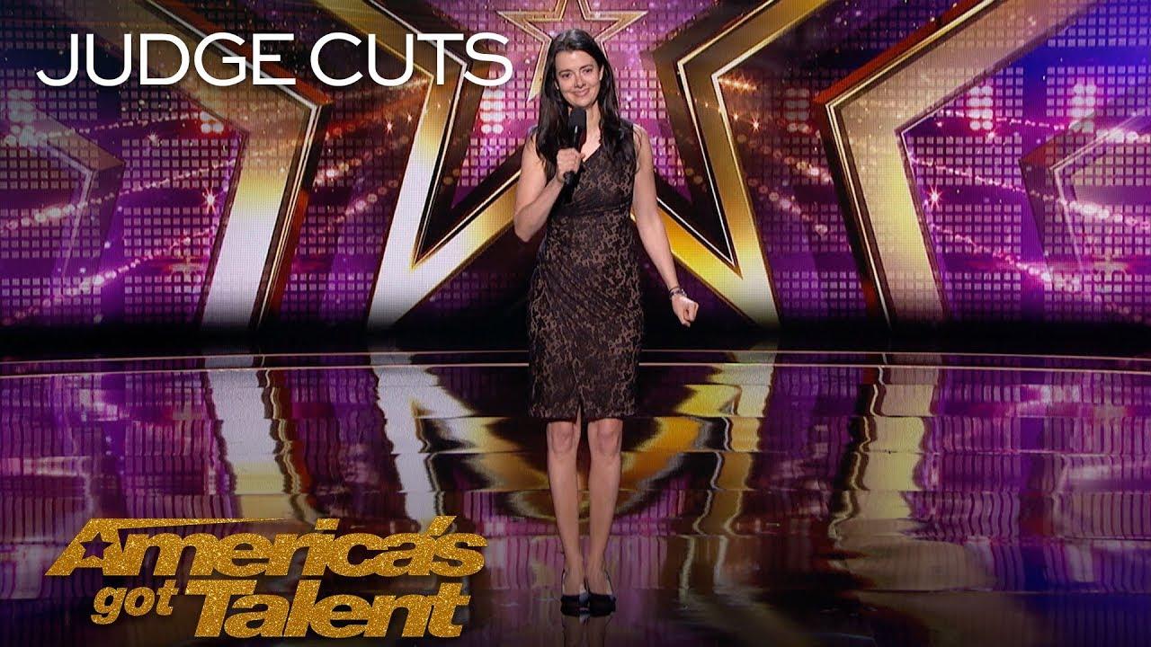 Carmen Lynch: New York Comedian Hilariously Describes Dream Analysis - America's Got Talent 2018 thumbnail