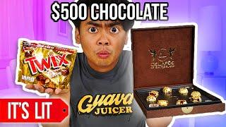 $1 Chocolate VS $500,000 Chocolate - WHAT?!