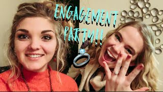 My Best Friends Engagement Party!/HOW TO DECORATE FOR AN ENGAGEMENT PARTY/MY BEST FRIEND IS ENGAGED