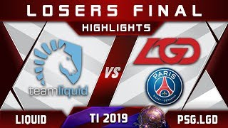 Liquid vs PSG.LGD TI9 [EPIC] LB Final The International 2019 Highlights Dota 2