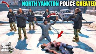 GTA 5 : NOTH YANKTON POLICE CHEATED MICHAEL || BB GAMING