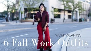 Work Wear Inc: Fall Work Outfit Ideas 2017 Edition