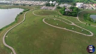 Dji PHANTOM 4PRO V2.0 Ultra HD 4k volando en el parque de Westpark ????