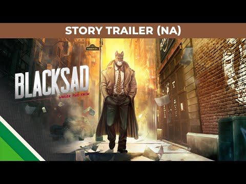 Blacksad: Under the Skin | Story Trailer NA | Microids, Pendulo Studios & YS Interactive thumbnail