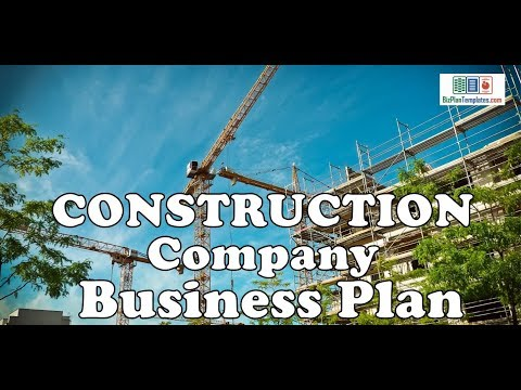 , title : 'CONSTRUCTION COMPANY BUSINESS PLAN - Template with example & sample
