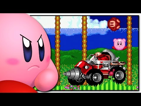 Play as Kirby in Sonic The Hedgehog 2 - Rom Hack - Blue Television
