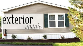 $250 MOBILE HOME EXTERIOR/OUTDOOR UPDATE SPRING 2019