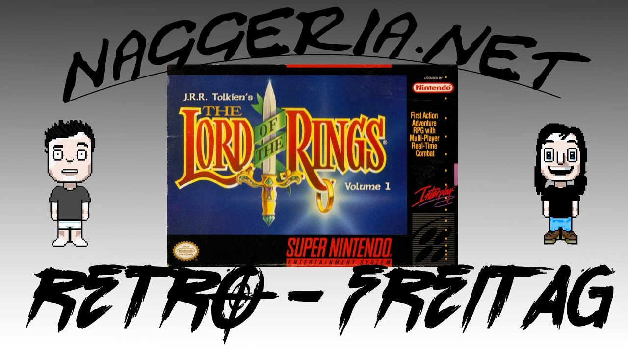 [Retro-Freitag] The Lord of the Rings – Volume 1 (Super Nintendo)