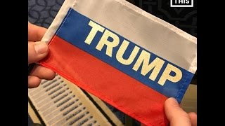 Trump Supporters Wave Russian Flags At CPAC