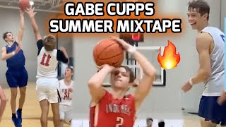 """Gabe Cupps Was SHOWING OFF This Summer! 5'11"""" Guard That SCORE AT WILL! Full Summer Highlights 💯"""