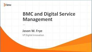 BMC and Digital Service Management Webinar