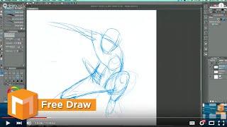 Free Draw - Dynamic Pose