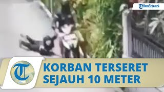 Video Penjambretan di Kiaracondong Bandung, Korban Wanita Terseret Motor Pelaku 10 Meter