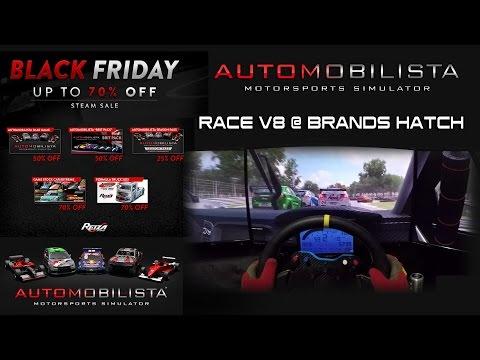 Automobilista Black Friday - Race V8 @ Brands Hatch