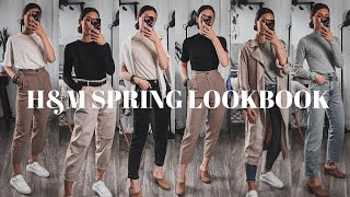H&M SPRING TRY ON HAUL   Spring Outfit Ideas