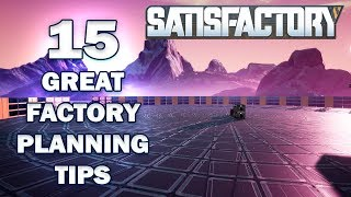 Satisfactory Guides 15 Top Tips for Factory Planning