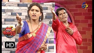 Chammak Chandra Performance |  Jabardasth | 25th October 2018 | ETV Telugu