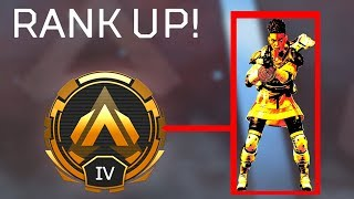 Carried by a HACKER to GOLD in Apex Legends