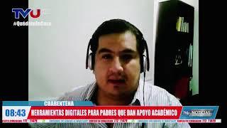 ENTREVISTA EN TELEVISIÓN UNIVERSITARIA SOBRE TECNOLOGÍA Y CUIDADOS CON LOS NIÑOS