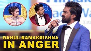 Arjun Reddy Fame Rahul Ramakrishna Walks out in Anger