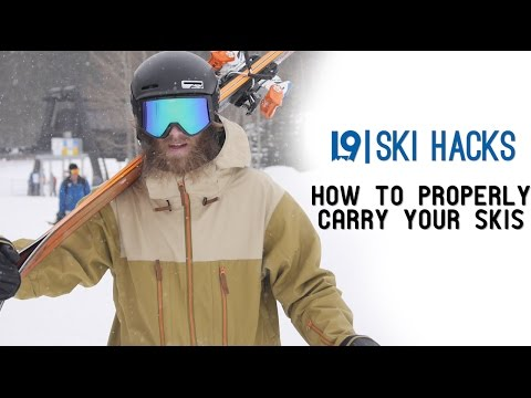 L9 Ski Hacks | How To Properly Carry Your Skis